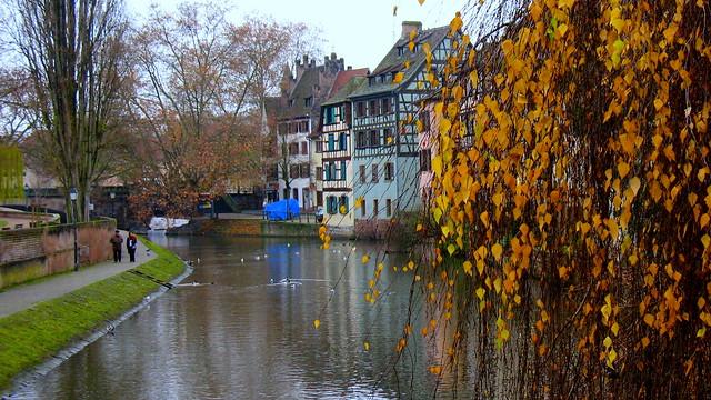 Autumn in Strasbourg...