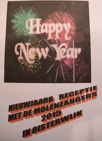 Nieuwjaarsreceptie Molenzangers 2015