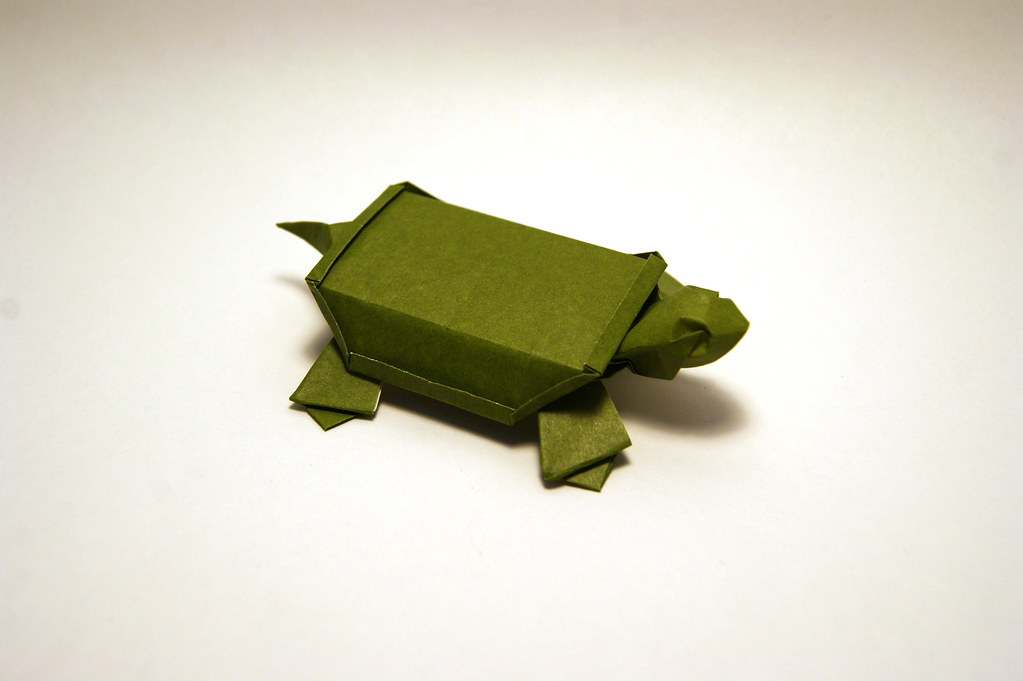 How To Make Origami Turtle - Easy Origami Turtle - YouTube | 681x1023