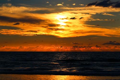 sunset sky reflection beach clouds canon reflections israel shadows horizon telephoto ako canondslr telephotolens canon70200f4l cloudysunset horizonbeach canon600d canont3i canonkiss5 sunsetonakobeachisrael akobeach