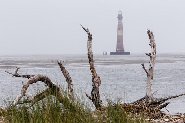 Foggy Afternoon at Morris Island Lighthouse, Charleston, South Carolina