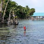 05 Viajefilos en Panama. Isla Carrenero 01