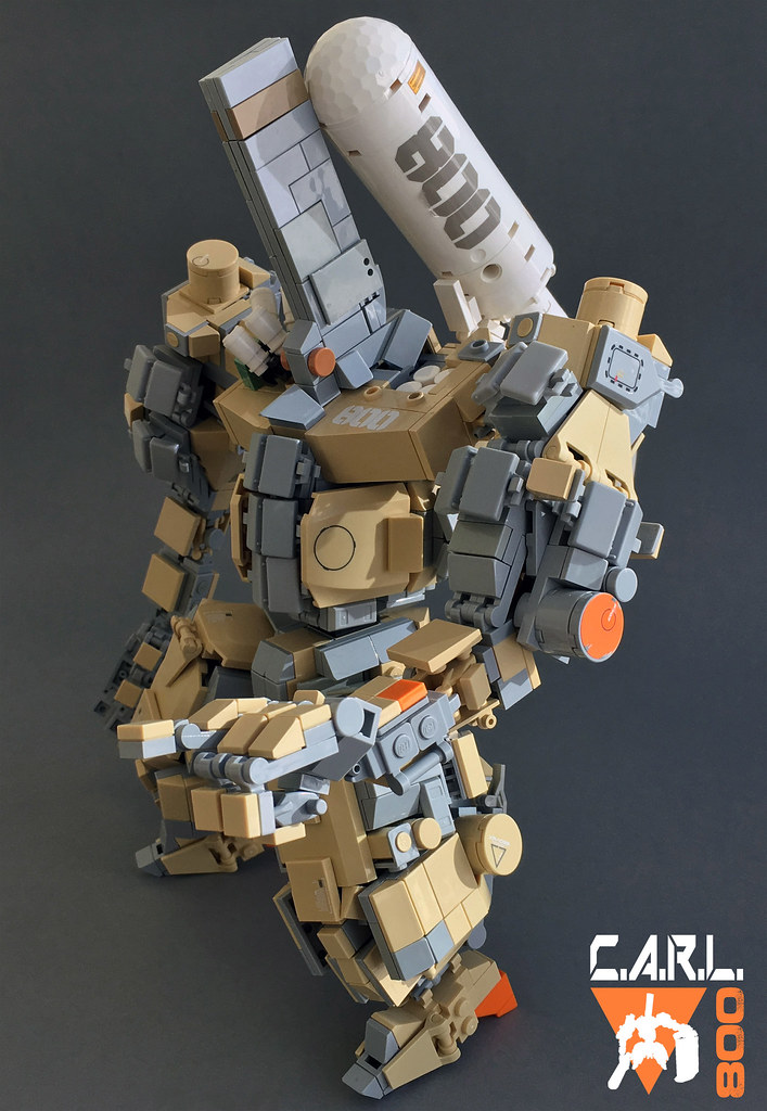C.A.R.L. 800 (custom built Lego model)