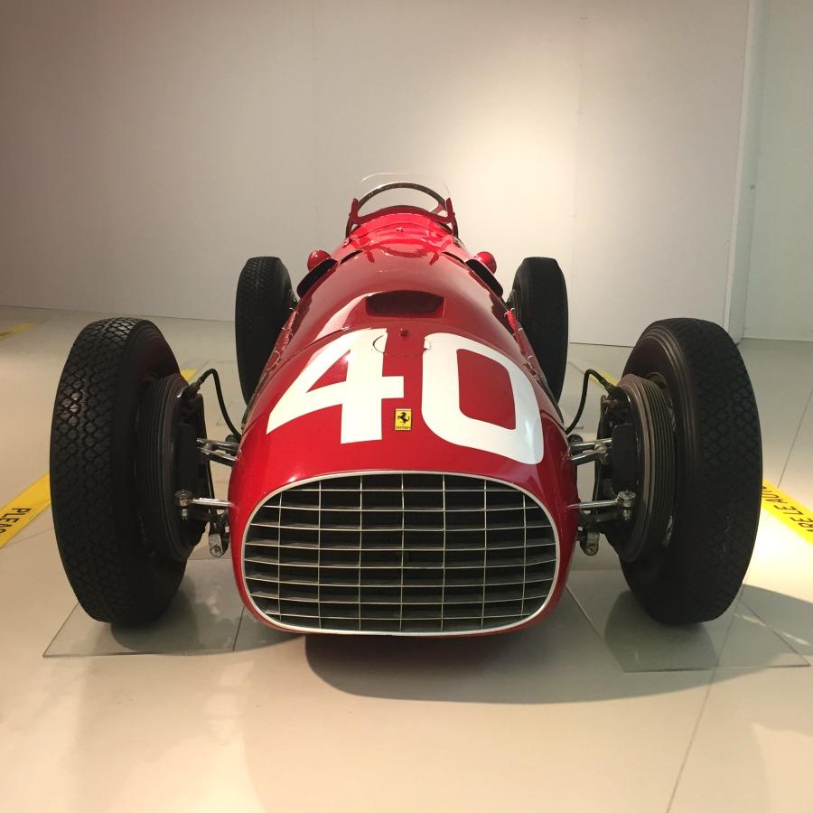 Ferrari Museum in Modena, Italy