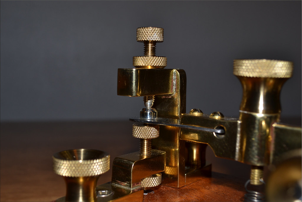 MY NEW ERICSSON MORSE CODE TELEGRAPH KEY MADE IN ENGLAND B…   Flickr