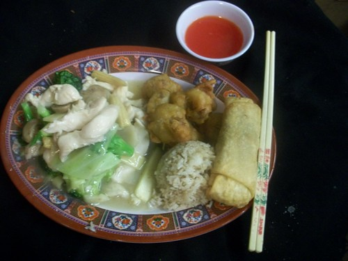 C5 Moo Goo Gai Pan and Sweet & Sour Pork | by Golden Gate Chinese Restaurant