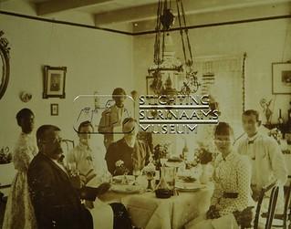 Diner met hr. en mevr. Lens | by Stichting Surinaams Museum