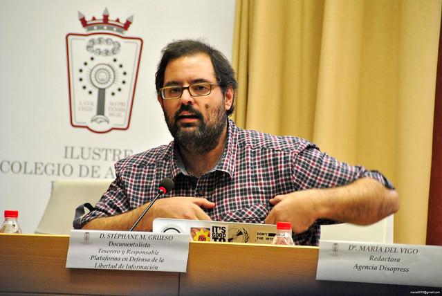 Stéphane M. Grueso, tesorero y responsable de la formación de la PDLI