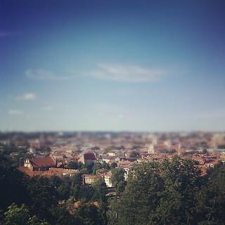 Los tejados de Vilnius.