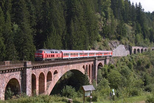 218 434 in Kappel-Gutachbrücke
