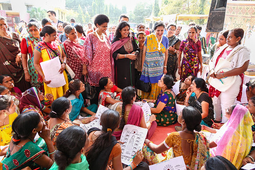 In India, UN Women Executive Director hears from rural tech gurus | by UN Women Gallery