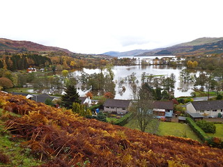 Flooding at the head of Loch Tay | by nz_willowherb