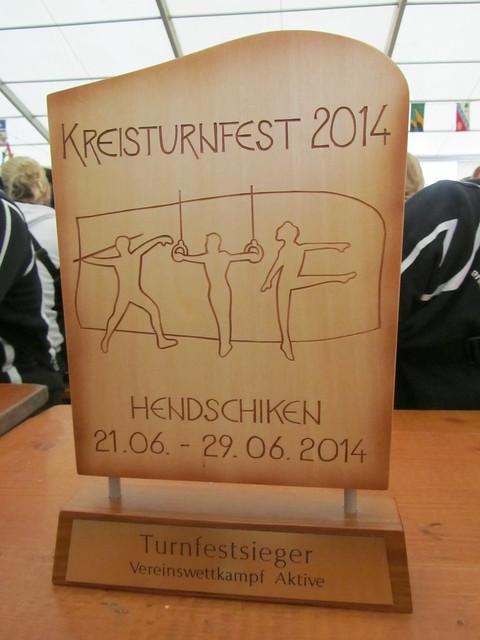Kreisturnfest Hendschiken AKTIVE 2014