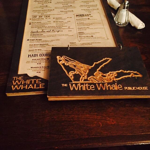 Whale menus