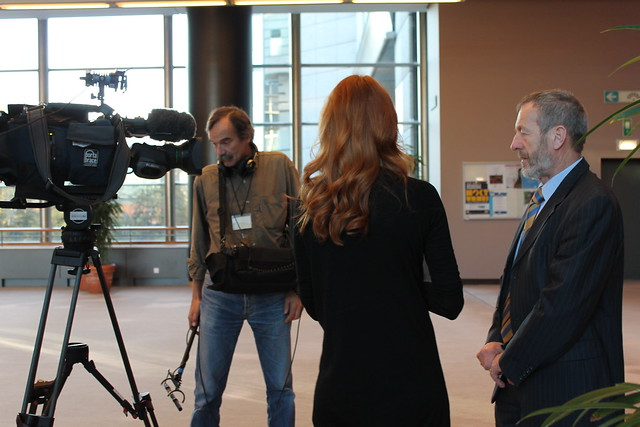 Video Interview with TV Slovenia