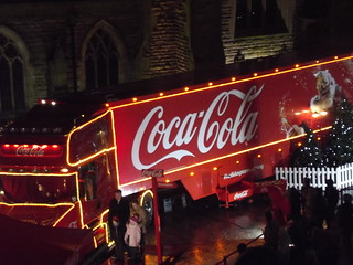 Coca Cola Christmas lorry visit Birmingham Bullring | by ell brown