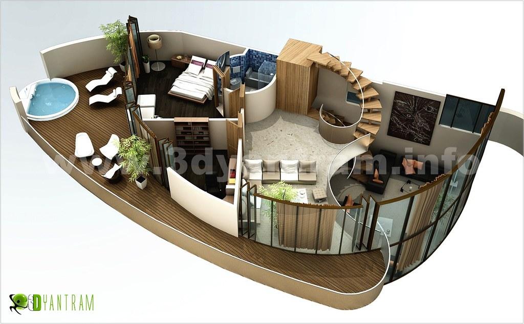House 3d Floor Plan Design We Provide Residential Commerc Flickr