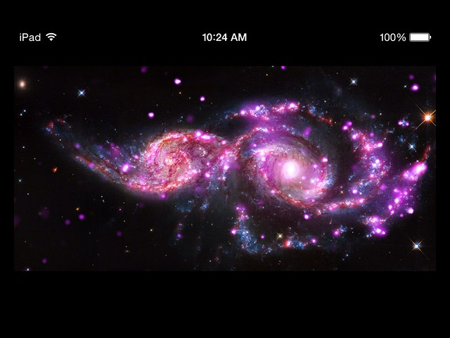 Spiral Galaxies Colliding? <<>> Yes, And That Creates Shock Waves <<>> Leading To Birth of New Stars!!