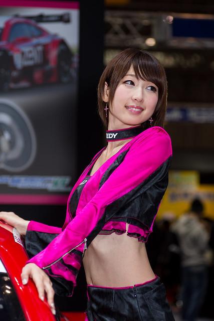EXEDY  -Tokyo Auto Salon 2015 Show Girl (Makuhari, Chiba, Japan)