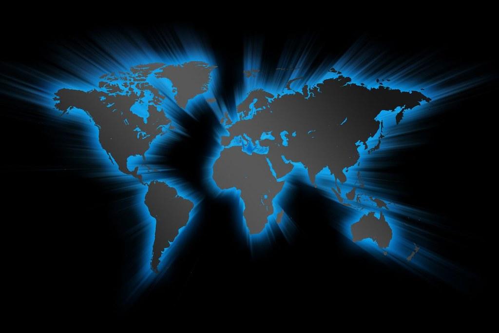 Black World Map Wallpaper 11090 Hd Wallpapers Azevedo Elcio Flickr