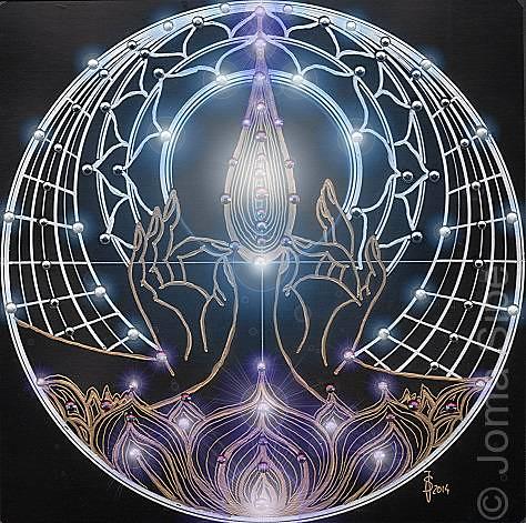 Joma Sipe, Mandala V Illuminated Version