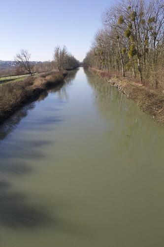 Promenade en bord de Marne