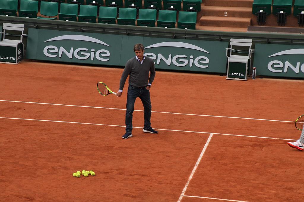 Toni Nadal and Carlos Costa