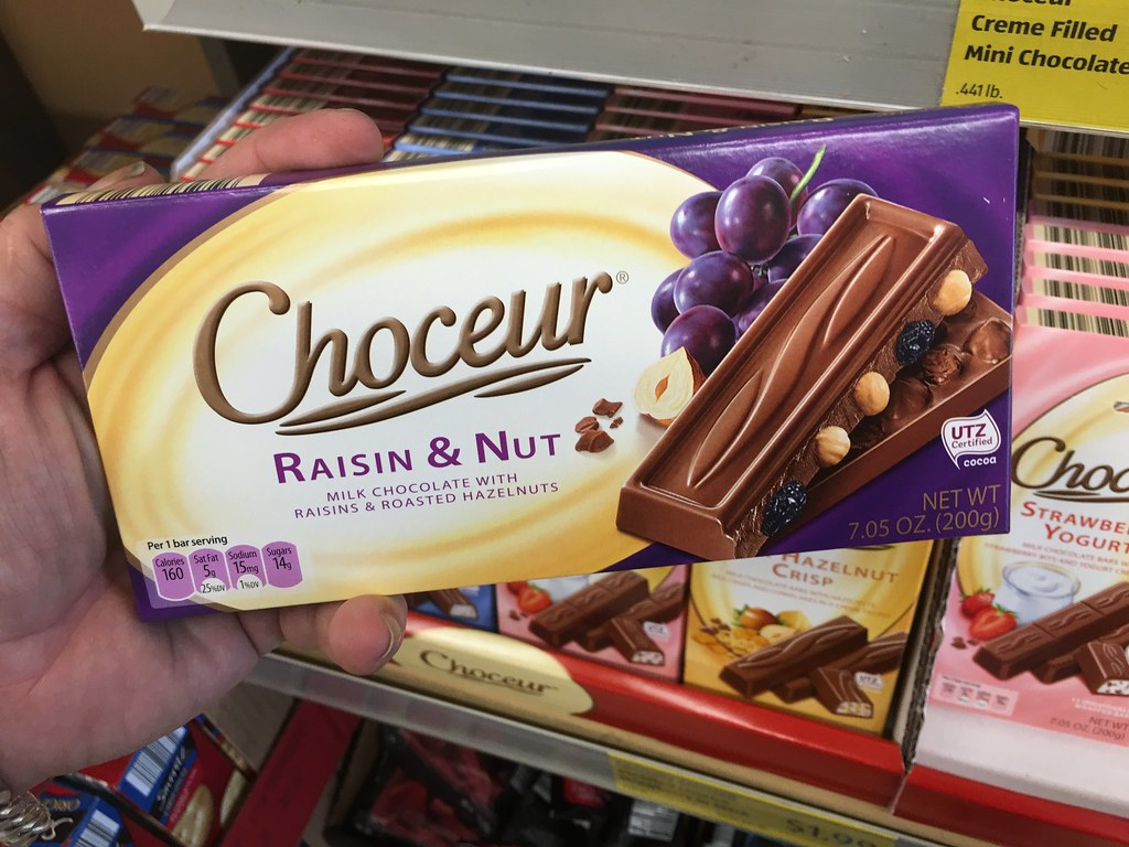 Choceur Chocolate Candy, Aldi Store Brand, 9/2016, pics by