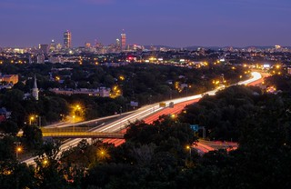 Evening traffic on I-93, north of Boston | by rjshade