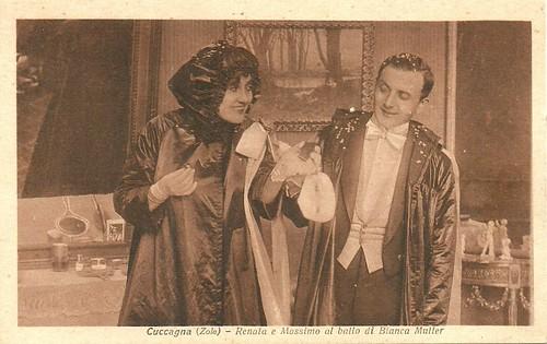 Hesperia and Alberto Collo in La Cuccagna (1917)