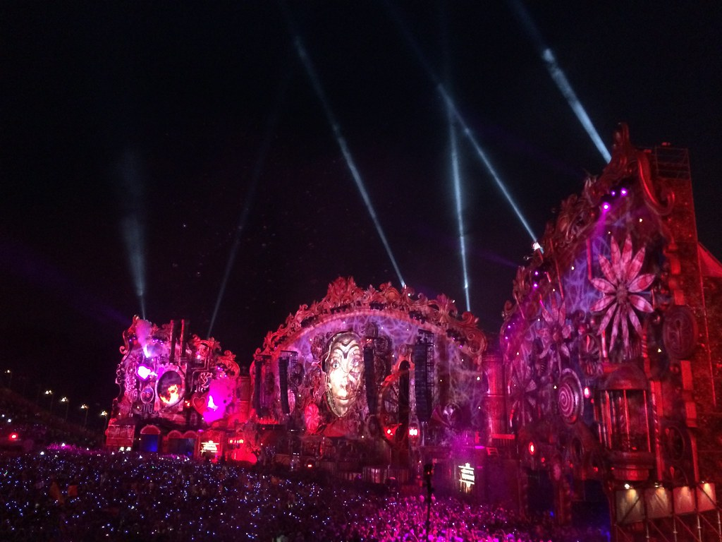 Tomorrowland 2014 Main Stage Night Marco Verch Is A
