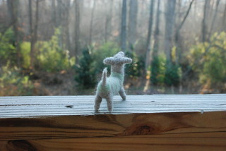 Striped Needle-felted Dachshund | by MissRiggles