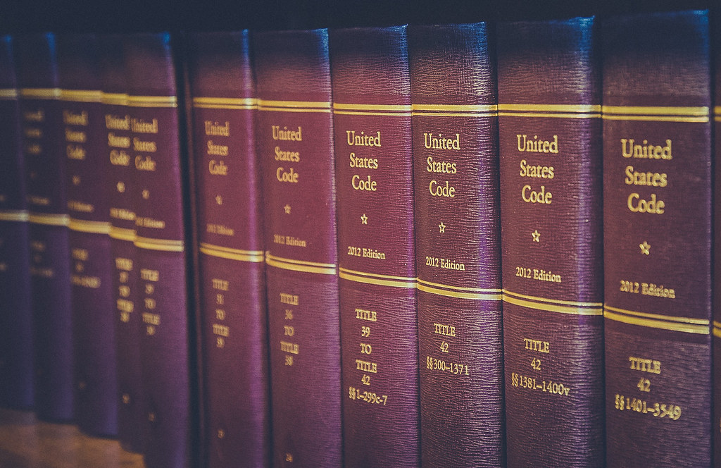 United States Code Law Books