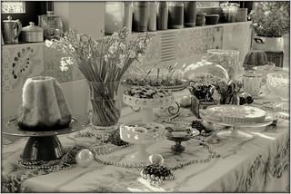 tavola dei dolci