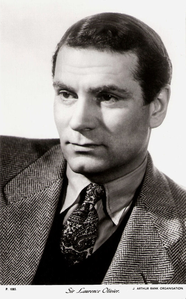 Laurence Olivier British Card In The The People Series B