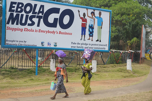 Ebola must go | by UNMEER