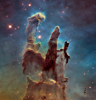 Hubble Goes High Def to Revisit the Iconic 'Pillars of Creation' | by NASA Goddard Photo and Video