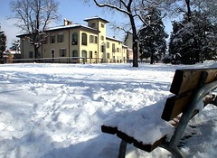 neve a villa Sanchioli