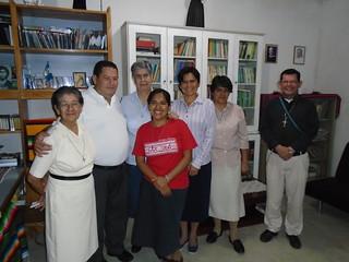 Guatemala - Con los sacertotes de la parroquia