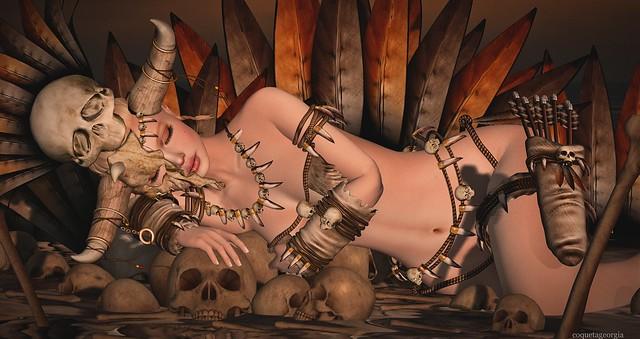 Sweet dreams my litle voodoo girl ....