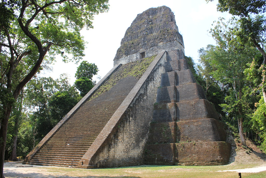 Tikal, Temple V | Tikal, Temple V Tikal is the ruins of an a… | Flickr