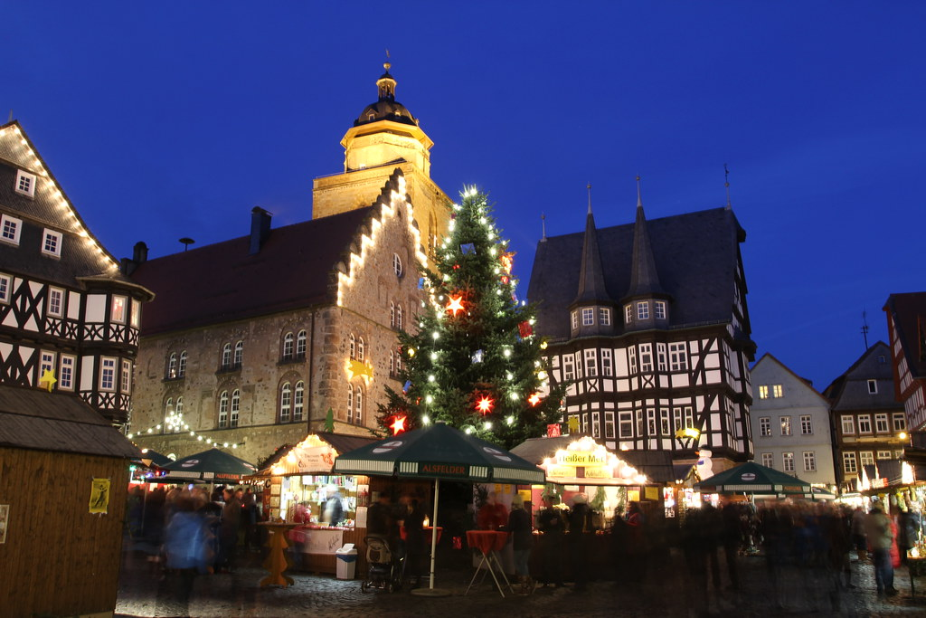 Alsfeld Weihnachtsmarkt.Weihnachtsmarkt Alsfeld 7 12 2014 Blick über Den Marktplat Flickr