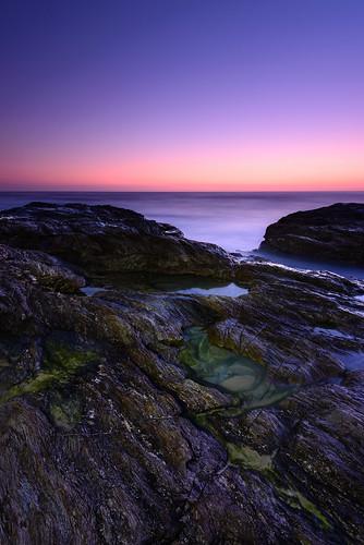 ocean longexposure lightpainting water sunrise sand australia newsouthwales cpl shellybeach nambuccaheads gnd09