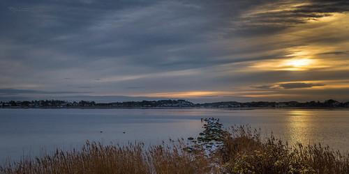 sun seascape reflection norway clouds cloudporn tønsberg vestfold nøtterøy husøy træla træleborgodden