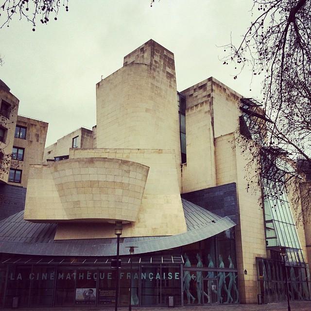 La Cinematheque Francaise museum in Paris