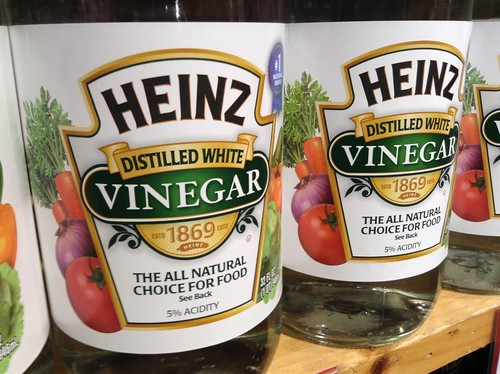Heinz White Vinegar, 12/2014, Pic by Mike Mozart of TheToyChannel and JeepersMedia on YouTube. #Heinz #Vinegar | by JeepersMedia
