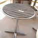 Till top outdoor table