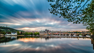 2 Minutes of Sunset with The Charles Bridge - Prague, Czech Republic | by traxxaxss