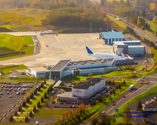 Looking South and Down on the Future of Flight & Boeing Dreamlifter Center In November 2014