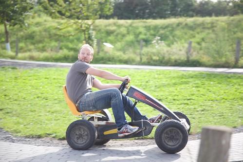 Matthias Driving Hard